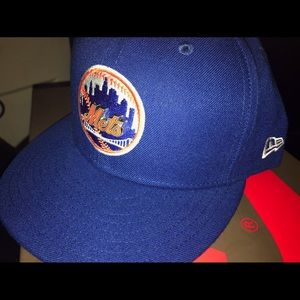 Mets New Era Fitted Authentic